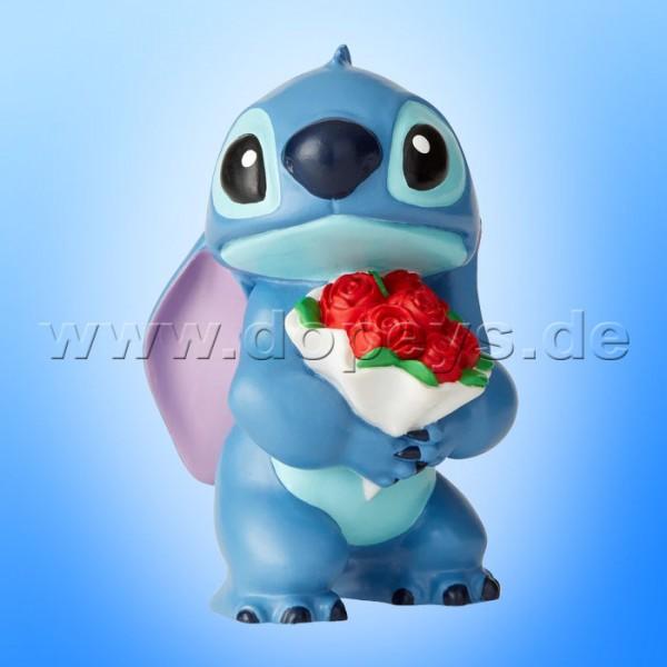 """Disney Showcase Collection von Enesco """"Stitch mit Blumen"""" Figur 6002186"""