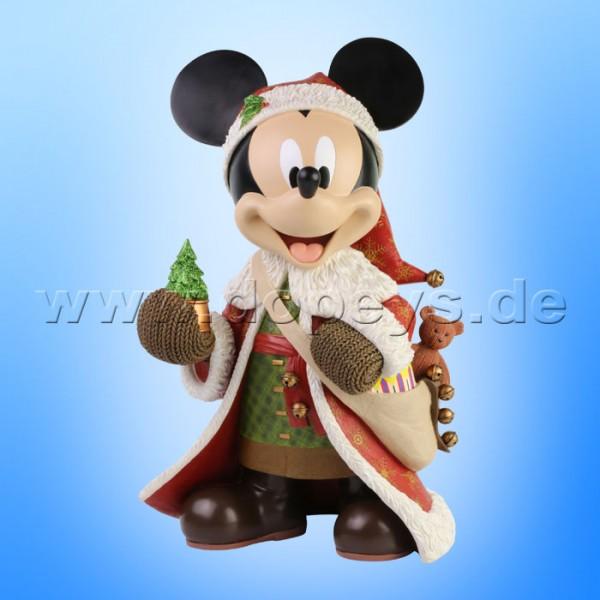 Disney Showcase Collection - Weihnachts-Mickey Maus Statement Figur sehr groß 6003771 Couture de Force