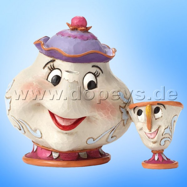 "Disney Traditions / Jim Shore Figur - Madame Pottine & Tassilo ""A Mother's Love"" 4049622"