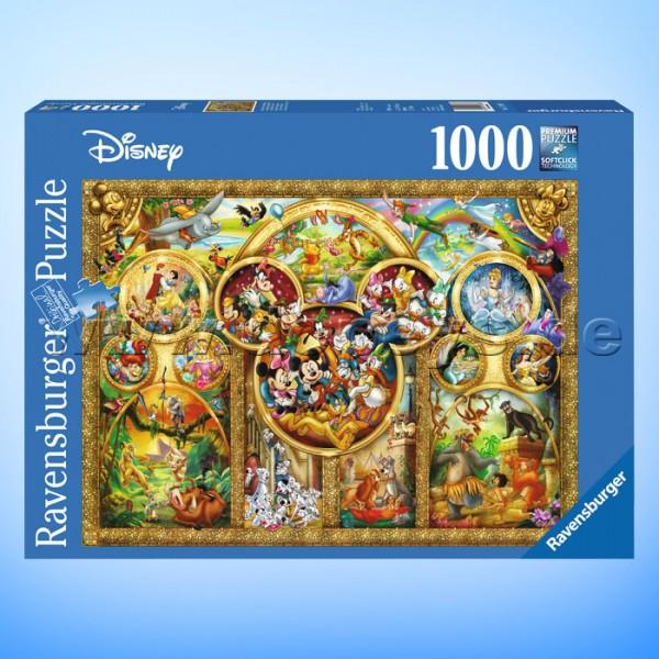 """Disney Puzzle """"Die schönsten Disney Themen"""" von Ravensburger 15266"""