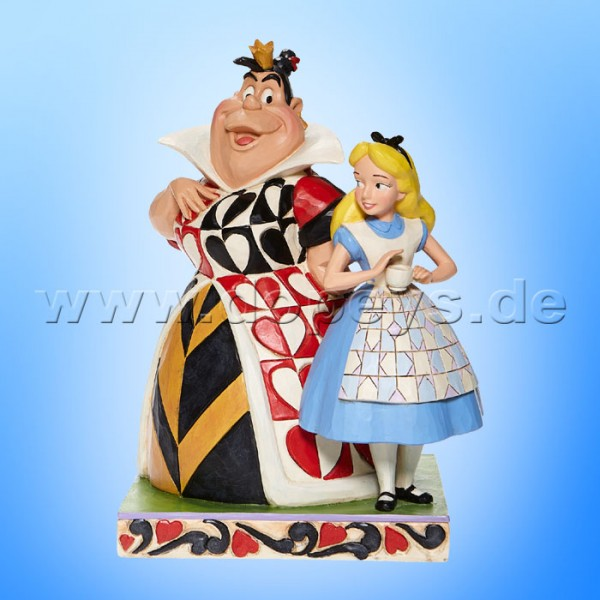Disney Traditions - Chaos and Curiosity (Alice & Herzkönigin) von Jim Shore 6008069