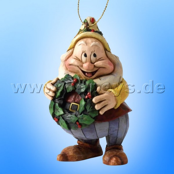 "Disney Traditions / Jim Shore Figur von Enesco.""Happy Ornament Baumanhänger"" A9043."