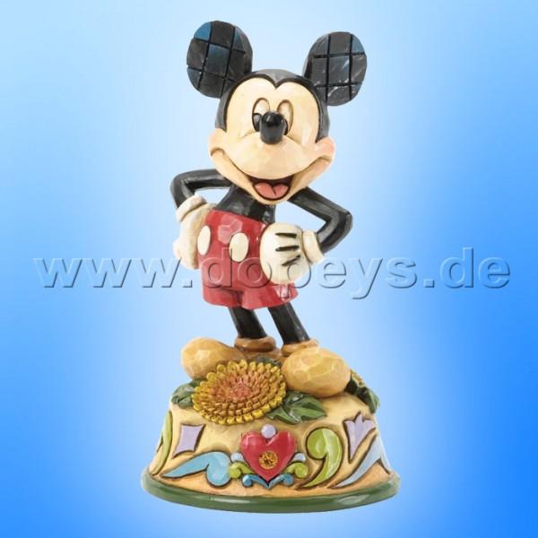 "Disney Traditions / Jim Shore Figur von Enesco ""November (Mickey Maus)"" 4033968."