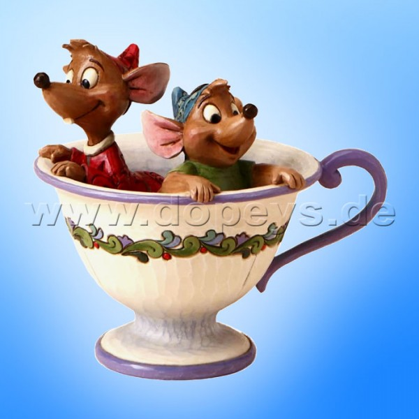 Disney Traditions - Tea for Two (Jacques & Karli in einer Teetasse) von Jim Shore 4016557