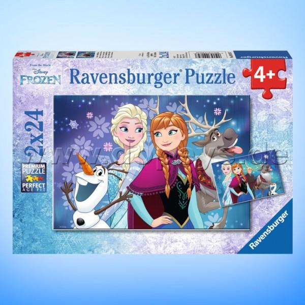 """Disney Puzzles Die Eiskönigin """"Frozen - Nordlichter"""" von Ravensburger 09074"""