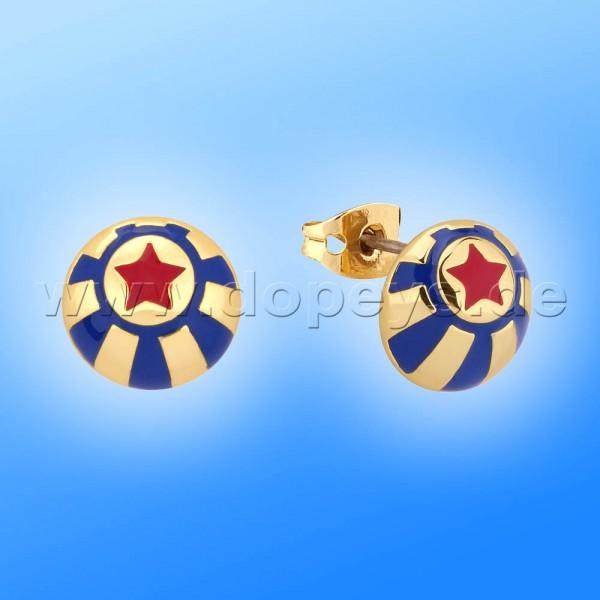 Disney Ohrstecker - Zirkus Ball (Dumbo) in Gold von Couture Kingdom 12101241
