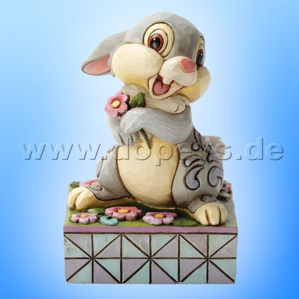 "Disney Traditions / Jim Shore Figur von Enesco. ""Spring Has Sprung (Klopfer)"" 4032866."