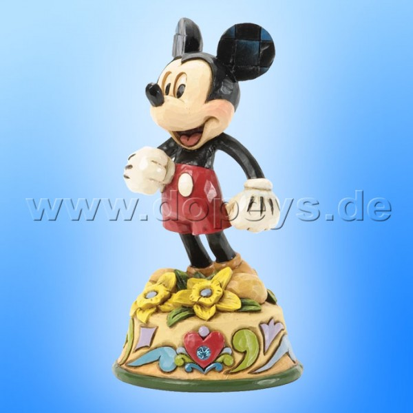 "Disney Traditions / Jim Shore Figur von Enesco ""März (Mickey Maus)"" 4033960."