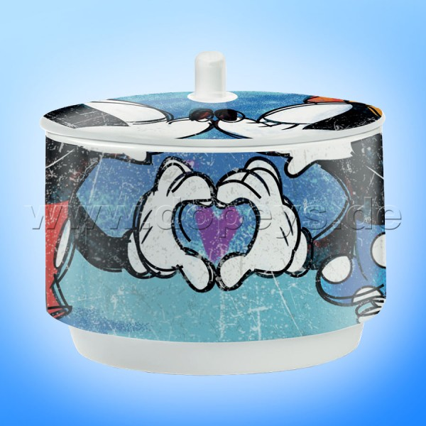 "Disney Zuckerdose Mickey & Minnie ""Blau"" PWM41/B"