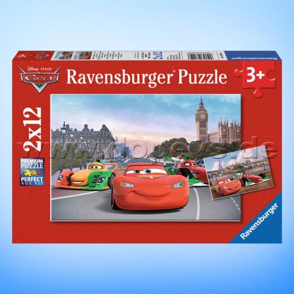 """Disney Puzzles Cars """"Lightning McQueen und seine Freunde"""" von Ravensburger 07554"""