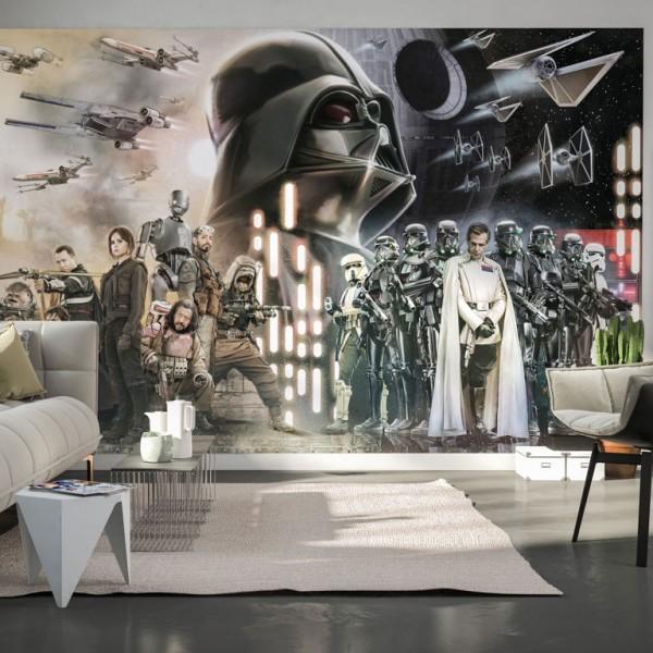 """Star Wars Vlies Fototapete """"Star Wars Collage"""" 4,00m x 2,50m"""