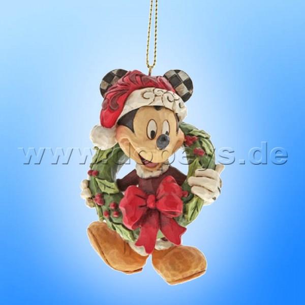 Disney Traditions - Mickey Maus Ornament Baumanhänger von Jim Shore A30355