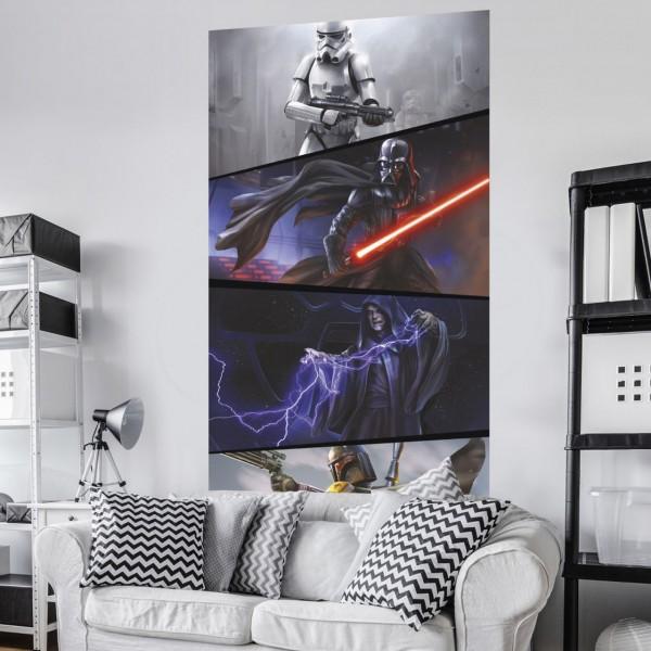 """Star Wars Vlies Fototapete """"Star Wars Moments Imperials"""" 1,20m x 2,00m"""