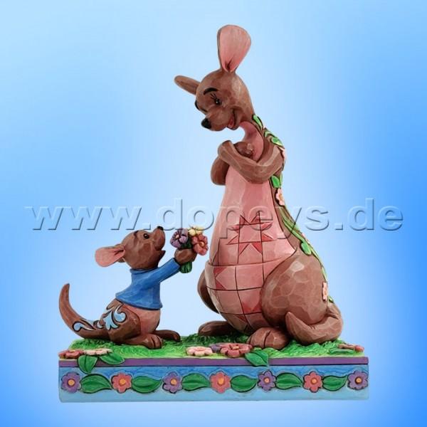 Disney Traditions - The Sweetest Gift (Ruh schenkt Kanga Blumen) von Jim Shore 6010102