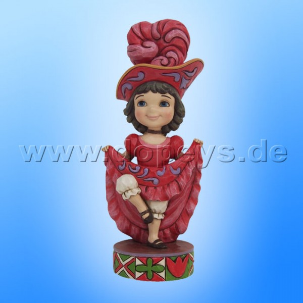 "Disney Traditions / Jim Shore Figur von Enesco ""Welcome to France (Small World Frankreich)"" 4055423."
