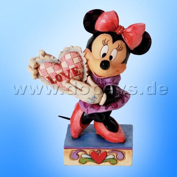 "Disney Traditions / Jim Shore Figur - Minnie Maus ""My Love"" 4026085."