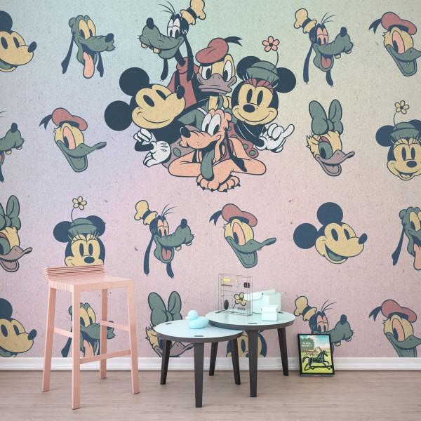"Disney Vlies Fototapete Mickey Maus ""Mickey Fab5"""