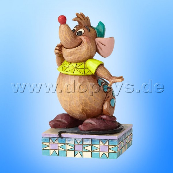 "Disney Traditions / Jim Shore Figur von Enesco ""Cinderella's Friend (Karli)"" 4059739"