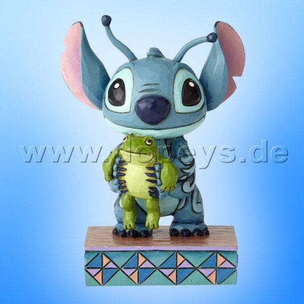 "Disney Traditions / Jim Shore Figur von Enesco ""Strange Life-Forms (Stitch mit Frosch)"" 4059741"