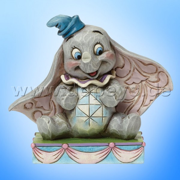 "Disney Traditions / Jim Shore Figur von Enesco ""Baby Mine (Dumbo)"" 4045248."