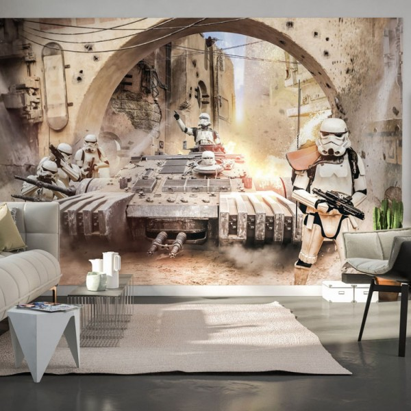 "Star Wars Vlies Fototapete ""Star Wars Tanktrooper"" 4,00m x 2,50m"
