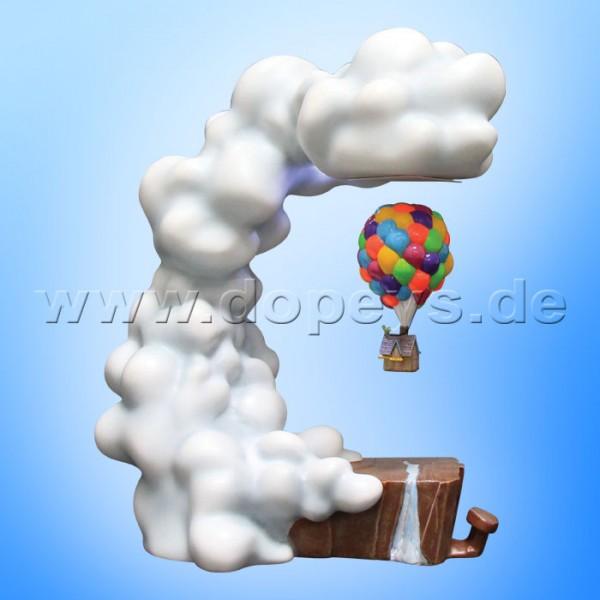 Disney Grand Jester Studios - Pixar Oben Luftballon Haus Figur mit Magnetschwebetechnik A30537