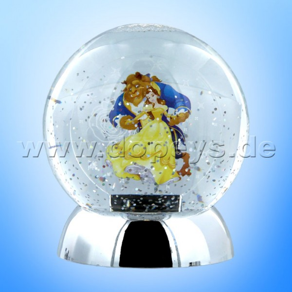 "Disney Department 56 von Enesco ""Beauty & The Beast Waterdazzler"" Globe (Schneekugel beleuchtet) 4059483"