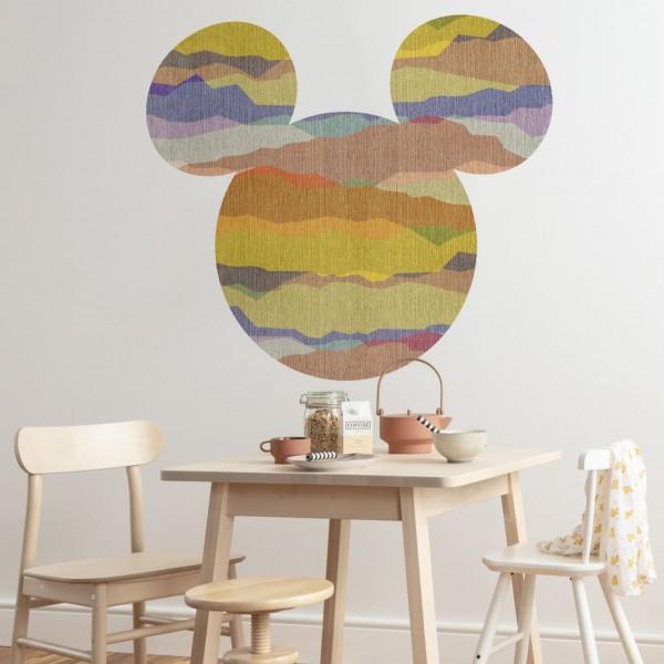 "Disney Wandsticker / Wandaufkleber Mickey Maus Kopf ""Mickey Head Vista"" 127cm x 127cm"