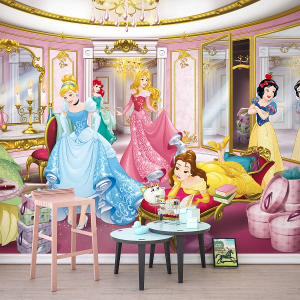 "Disney Prinzessinnen Fototapete ""Princess Mirror"""