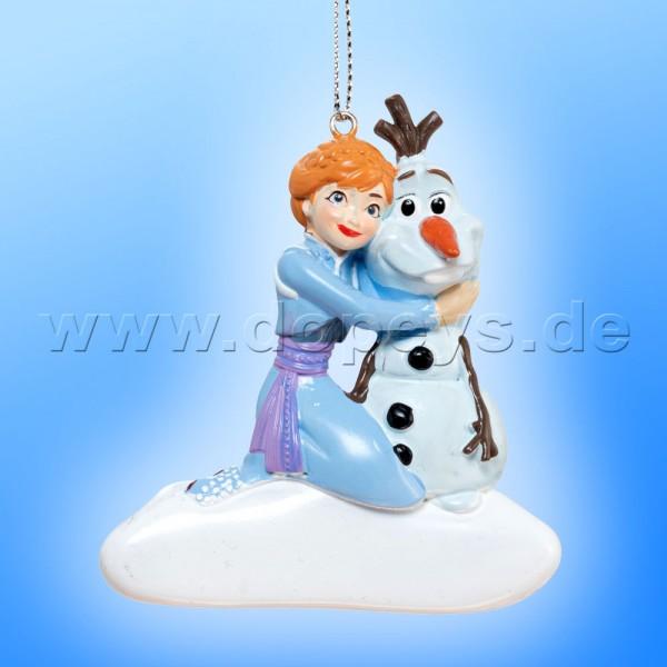 """Kurt S. Adler - Disney Die Eiskönigin """"Anna & Olaf"""" Relief Weihnachtsanhänger / Ornament DN03003-A"""