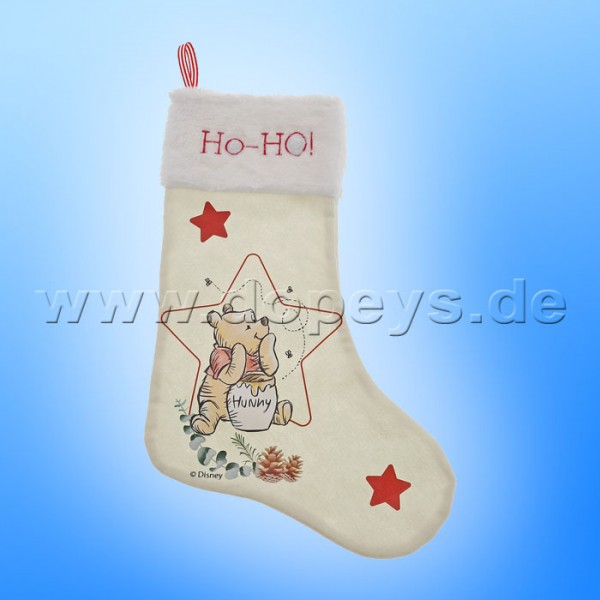 Enchanting Disney Collection - Winnie Puuh Weihnachtsstrumpf / Kaminsocke von Enesco A30246