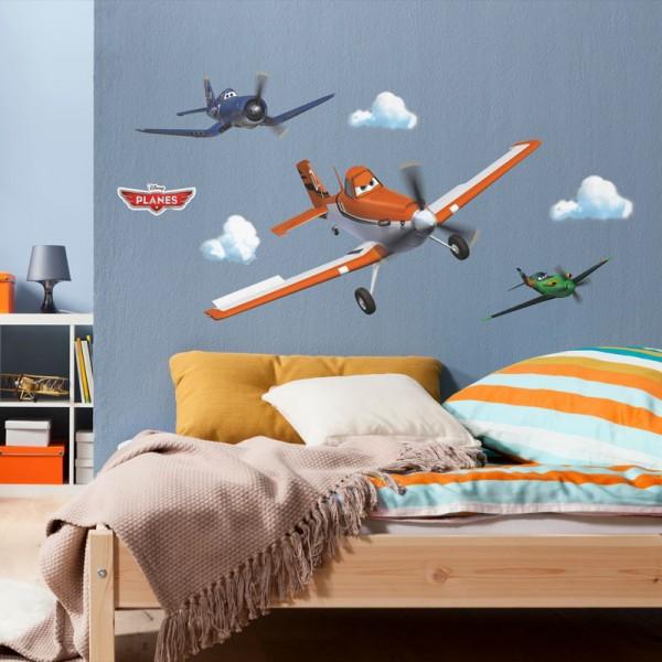 """Disney Wandsticker / Wandaufkleber """"Planes Dusty"""""""