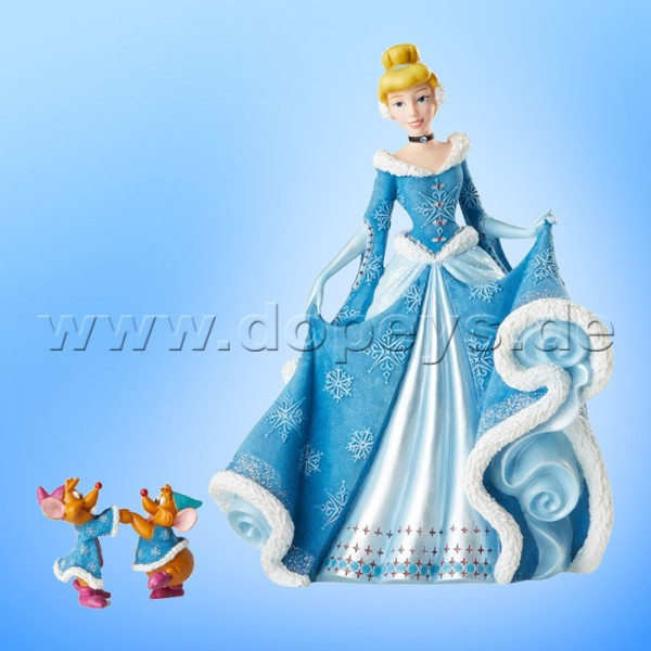 Disney Showcase Collection - Weihnachts-Cinderella Figur 6002181 Couture de Force