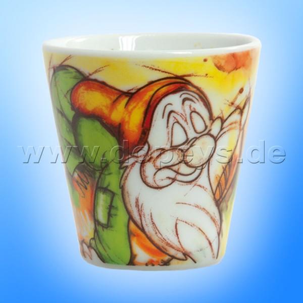"""Disney Espressobecher / Espresso Shot """"Schlafmütze"""" im italienischen Design, klein"""