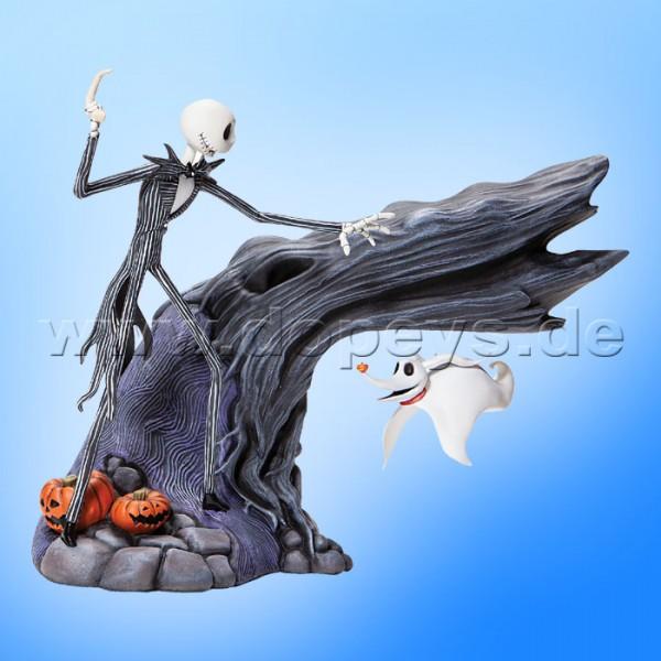 Disney Grand Jester Studios - Zero & Jack Figur mit Magnetschwebetechnik A30536