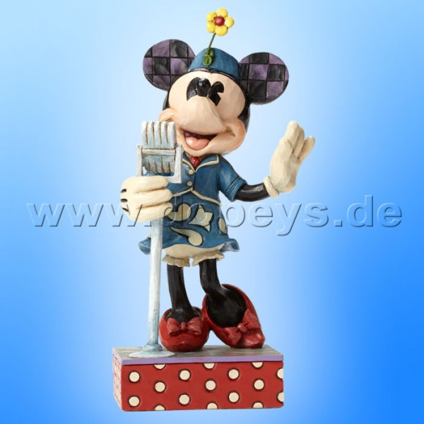 "Disney Traditions / Jim Shore Figur von Enesco. ""Sweet Harmony (Sängerin Minnie Maus)"" 4050388."