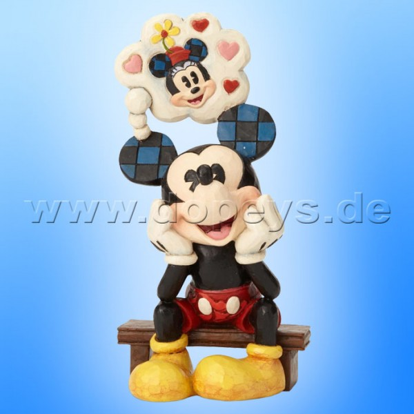 Thinking Of You (Mickey mit Liebesgedanken) Figur von Disney Traditions / Jim Shore - Enesco 6001281