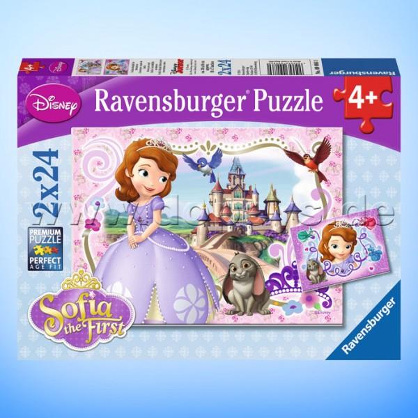 """Disney Puzzles Sofia, die Erste """"Sofias königliche Abenteuer"""" von Ravensburger 09086"""