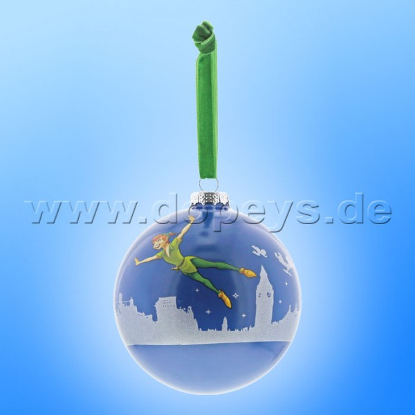"Disney Enchanting Collection - Peter Pan Weihnachtsbaumkugel / Glaskugel ""You Can Fly"" A29716"