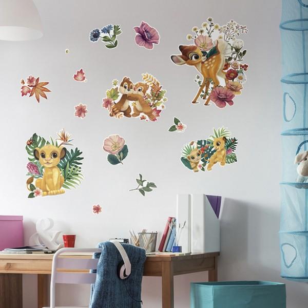 "Disney Wandsticker / Wandaufkleber Disney Baby ""Be in Nature"" 100cm x 70cm"