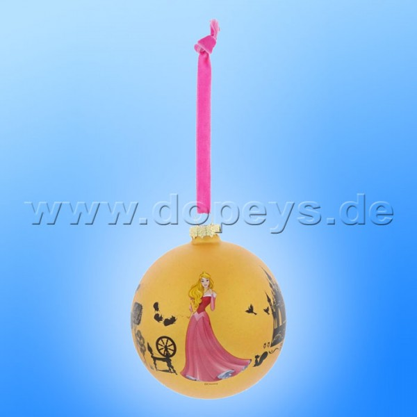 "Disney Enchanting Collection - Dornröschen Weihnachtsbaumkugel / Glaskugel ""Once Upon a Dream"" A29747"