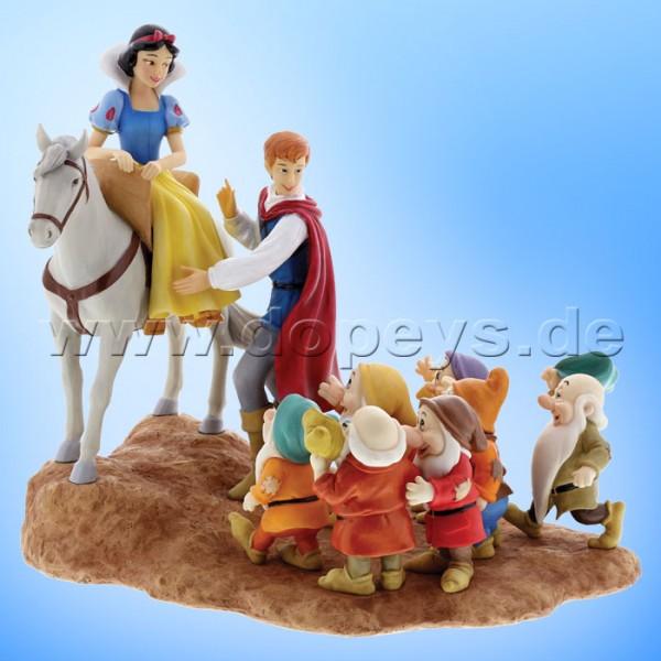 Enchanting Disney Collection - Schneewittchen mit Prinz und den 7 Zwergen (Joyful Farewell) Figur A2873