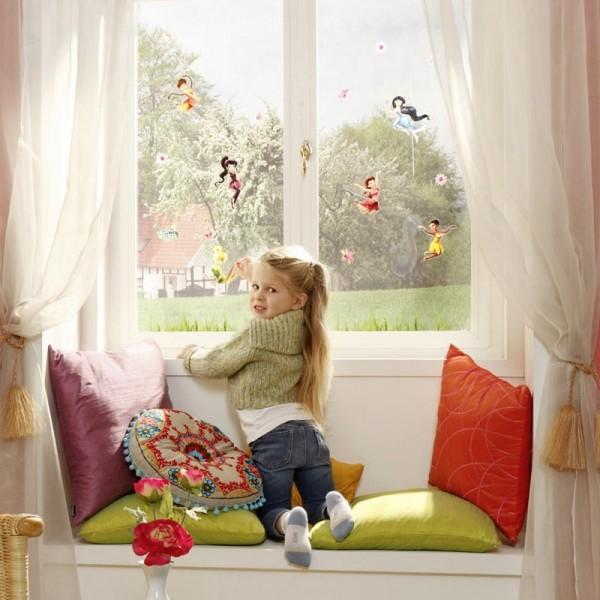 "Disney Fensteraufkleber / Window-Sticker Tinker Bell ""Fairies"""