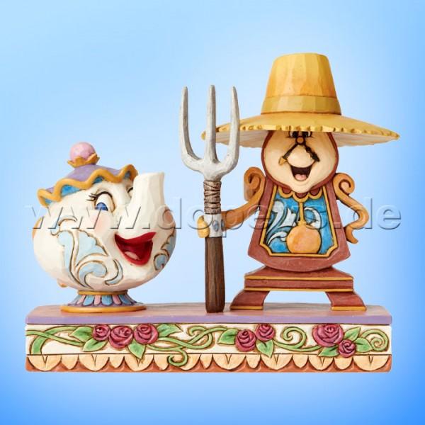 Workin Round The Clock (Madame Pottine & Herr von Unruh) Figur von Disney Traditions / Jim Shore - Enesco 6002813