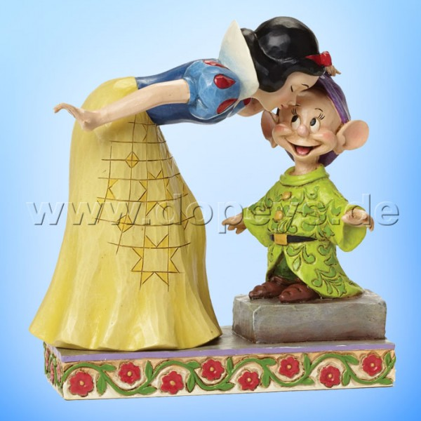 "Disney Traditions / Jim Shore Figur von Enesco.""Sweetest Farewell (Schneewittchen & Seppl)"" 4043650."