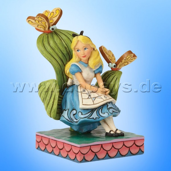 Curiouser and Curiouser (Alice im Wunderland) Figur von Disney Traditions / Jim Shore - Enesco 6001272