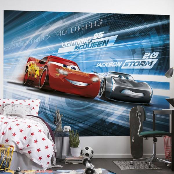 "Disney Fototapete ""Cars 3 Simulation"""
