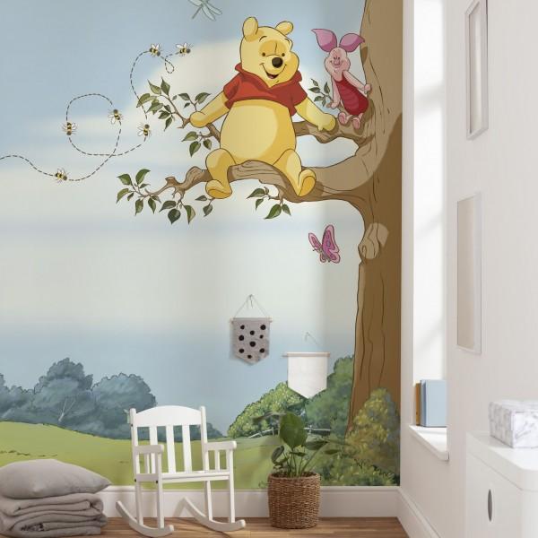 """Disney Winnie Puuh Fototapete """"Winnie Pooh Tree"""""""