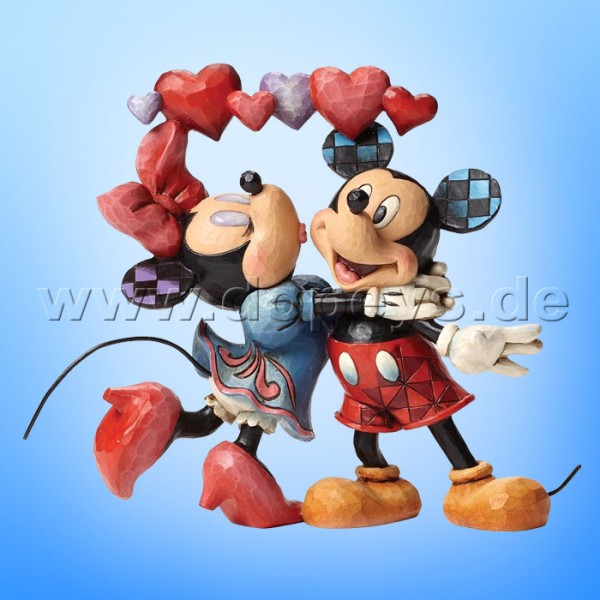 "Disney Traditions / Jim Shore Figur von Enesco.""Love is in the Air (Mickey & Minnie Maus)"" 4046038."