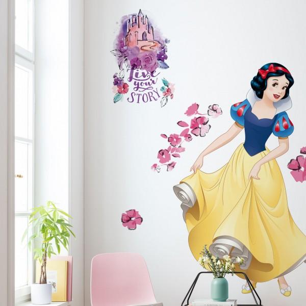 """Disney Vlies Fototapete selbstklebend Schneewittchen """"Snow White XXL"""" 127cm x 200cm"""